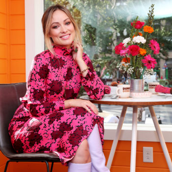 Olivia Wilde gives us a tour of a tiny home powered by Dunkin' Donuts coffee beans, talks sustainability