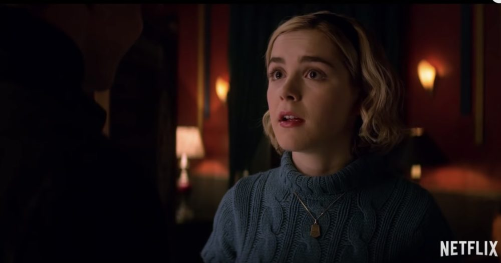 The first full-length trailer for Netflix's <em>Sabrina</em> is here, and it's absolutely insane
