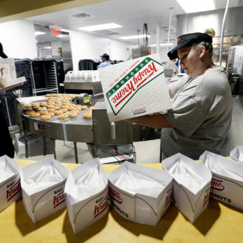 A single Krispy Kreme opened in Ireland, and the video of the line will give you anxiety