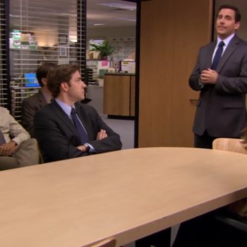 The internet just noticed something mysterious about the conference room in <em>The Office</em>