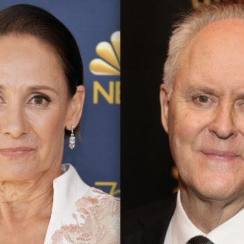 Laurie Metcalf and John Lithgow are starring in a Broadway play about Hillary and Bill Clinton