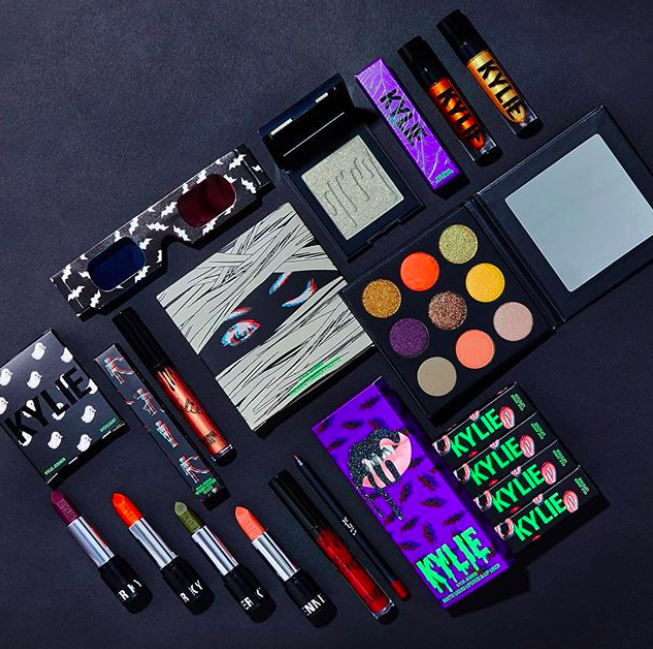 Kylie Cosmetics is launching a kitschy Halloween collection, and it comes with 3D glasses