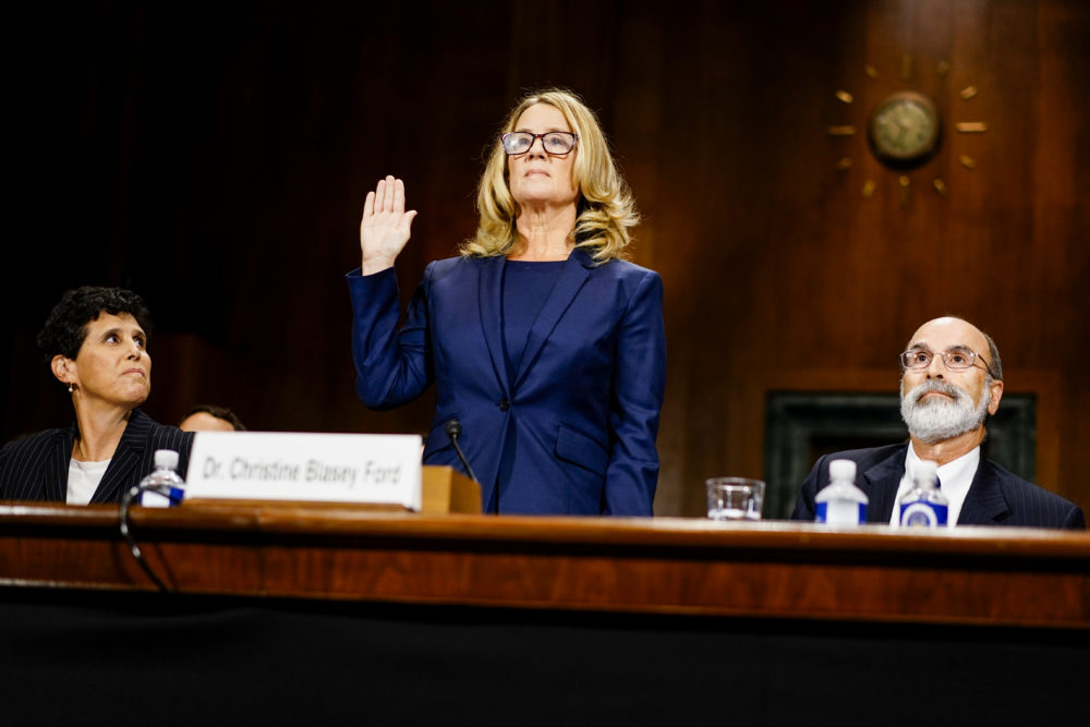 <em>Time's</em> powerful new cover featuring Christine Blasey Ford will give you chills