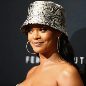 Rihanna sneakily showed off Fenty Beauty's holiday collection last month, and no one noticed