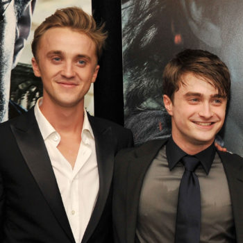 Draco and Harry reunited on Broadway, and wow, this photo is making us feel old