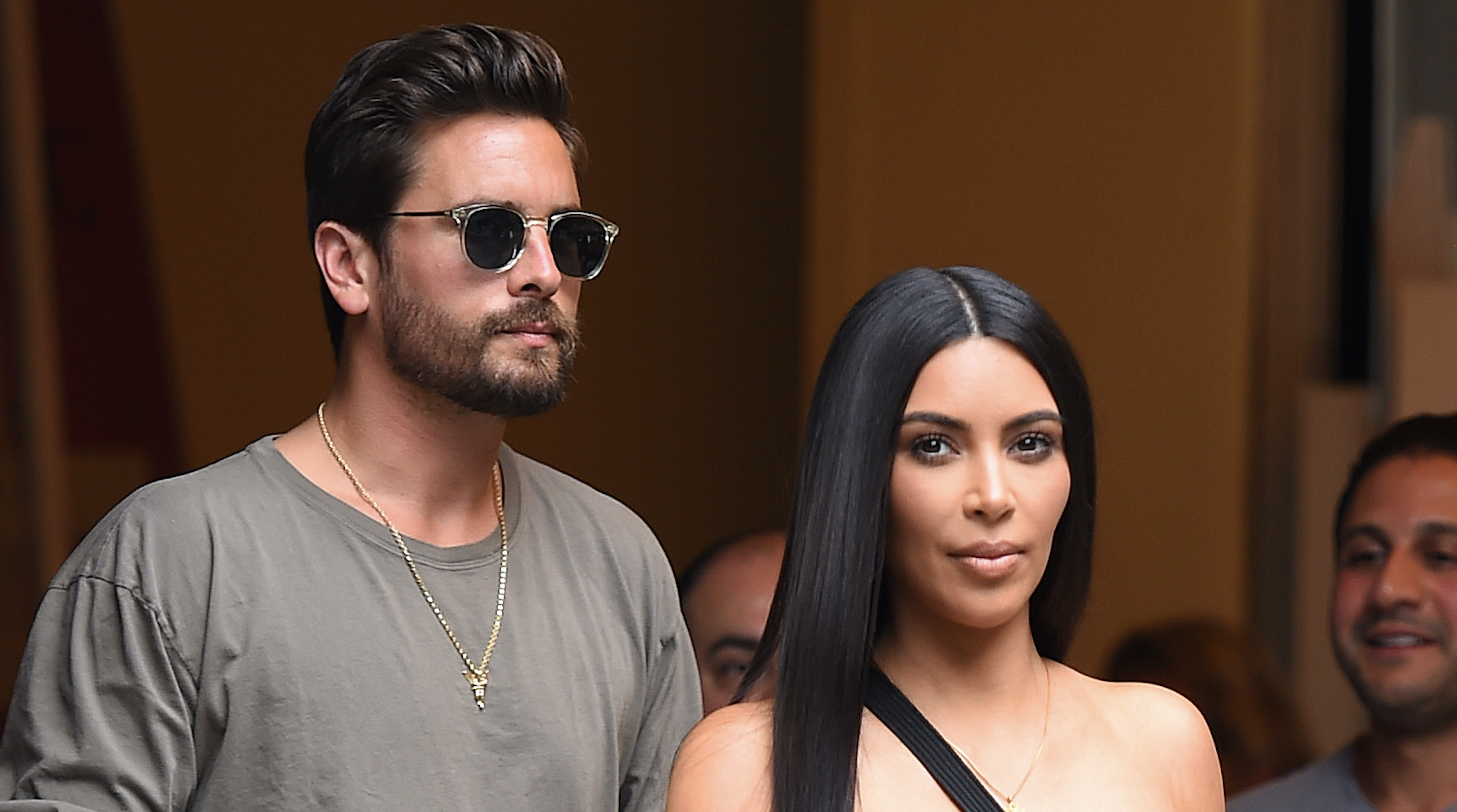 This is why Scott Disick doesn't like looking Kim Kardashian in the face