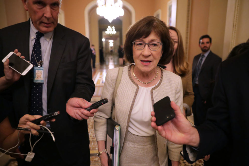 Sen. Susan Collins will vote yes on Brett Kavanaugh's nomination