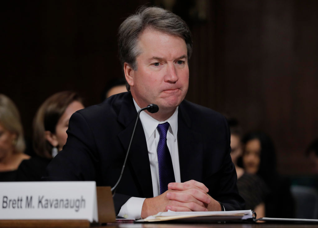 The Senate confirmed Judge Brett Kavanaugh to the Supreme Court, and we're devastated