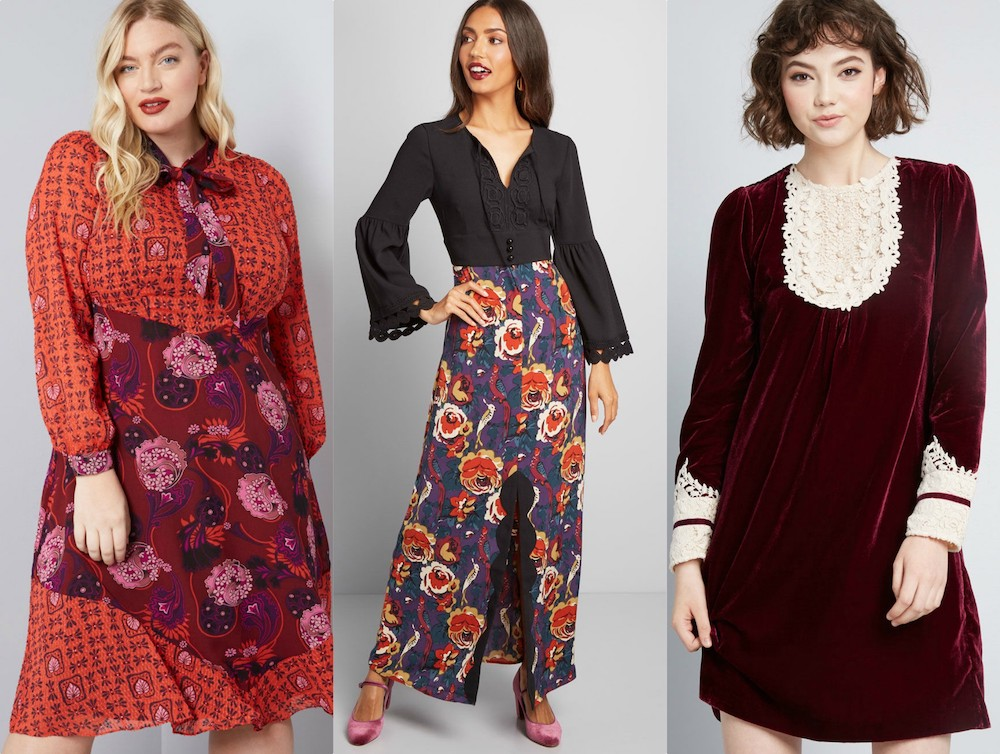This size-inclusive Modcloth x Anna Sui collab is a dream for vintage lovers