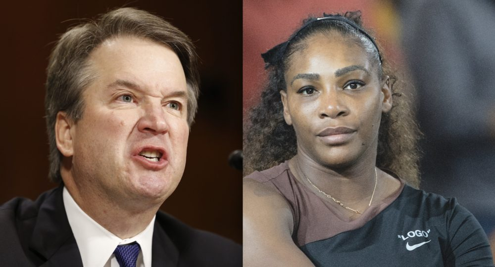 Alexis Ohanian called out the infuriating double standard between the way the world treats Brett Kavanaugh vs. Serena Williams