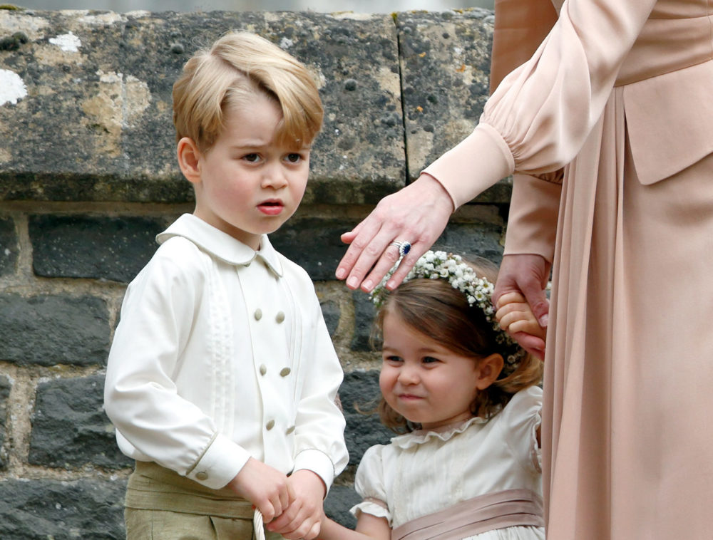 Prince George and Princess Charlotte will officially appear in Princess Eugenie's wedding party