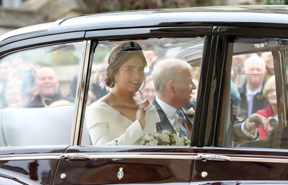 Here's the special detail you probably missed on Princess Eugenie's wedding dress
