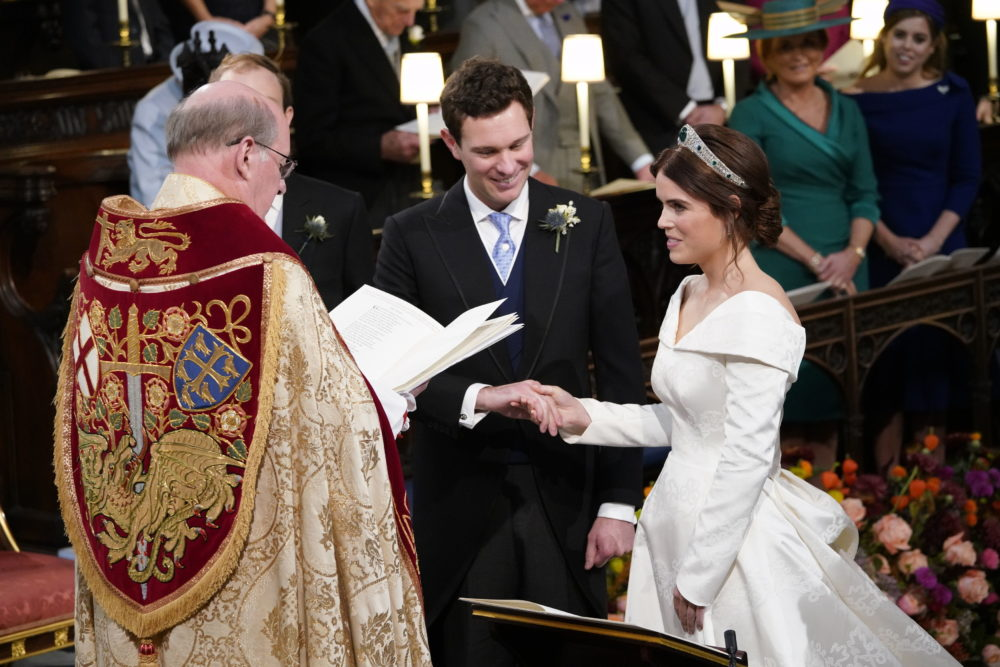 Everyone on Twitter is making the same <em>Harry Potter</em> joke about Princess Eugenie's wedding