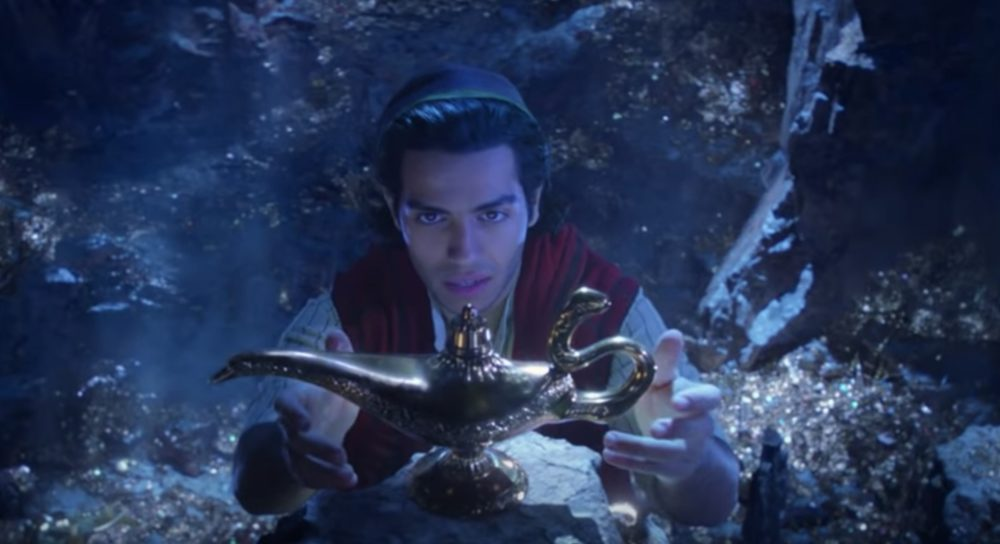 The first trailer for Disney's live-action <em>Aladdin </em>is here, and it will give you chills