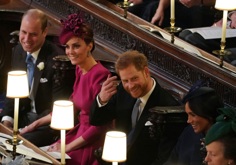Our favorite royal couples engaged in all the PDA at Princess Eugenie's wedding