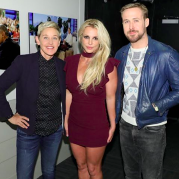 Ryan Gosling and Britney Spears reunited for the first time since <em>The Mickey Mouse Club</em>, and whoa