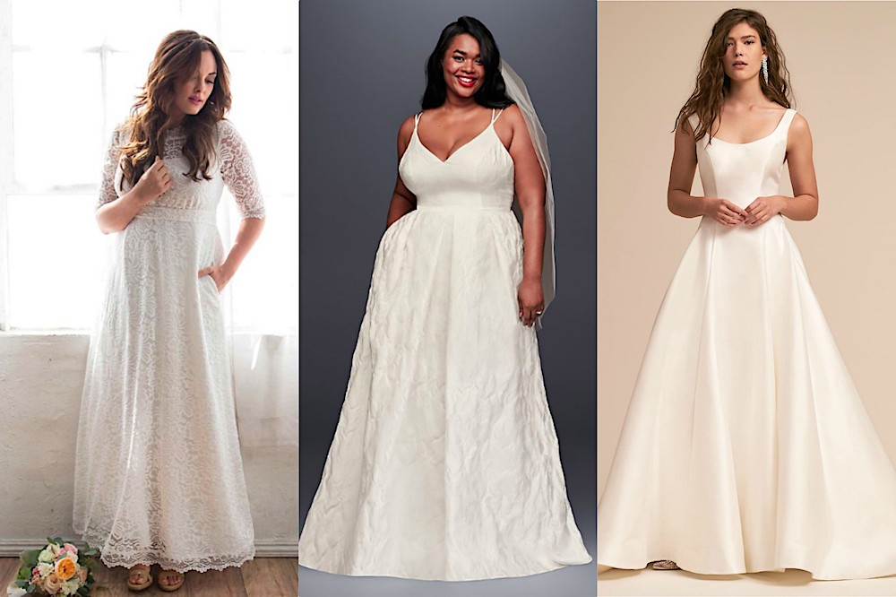 "15 wedding dresses with pockets so you can scream, ""It's got pockets!"" on your big day"