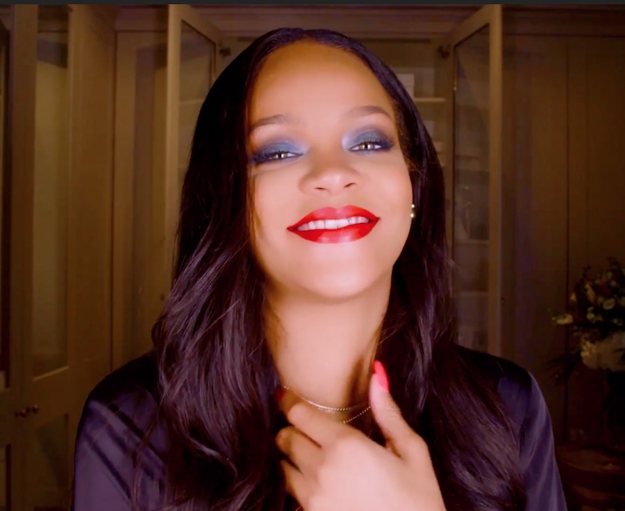 Rihanna revealed her secret trick for perfectly applying liquid lipstick