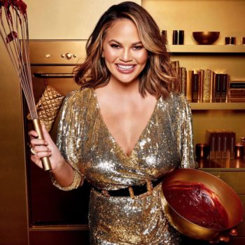 Chrissy Teigen's dessert-inspired collection with Becca Cosmetics just launched, so get it while it's hot
