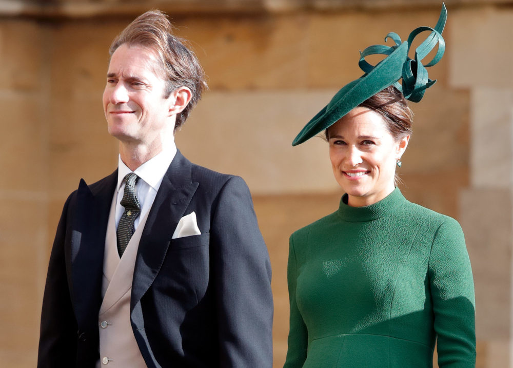 Pippa Middleton welcomed her first baby with husband James Matthews