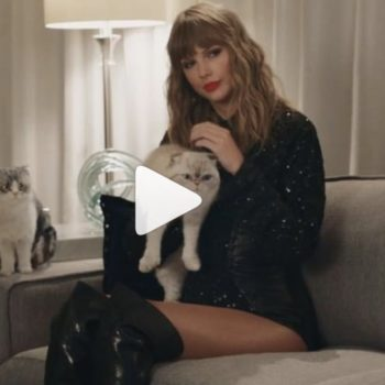 Taylor Swift's (talking) cats steal the show in this new commercial