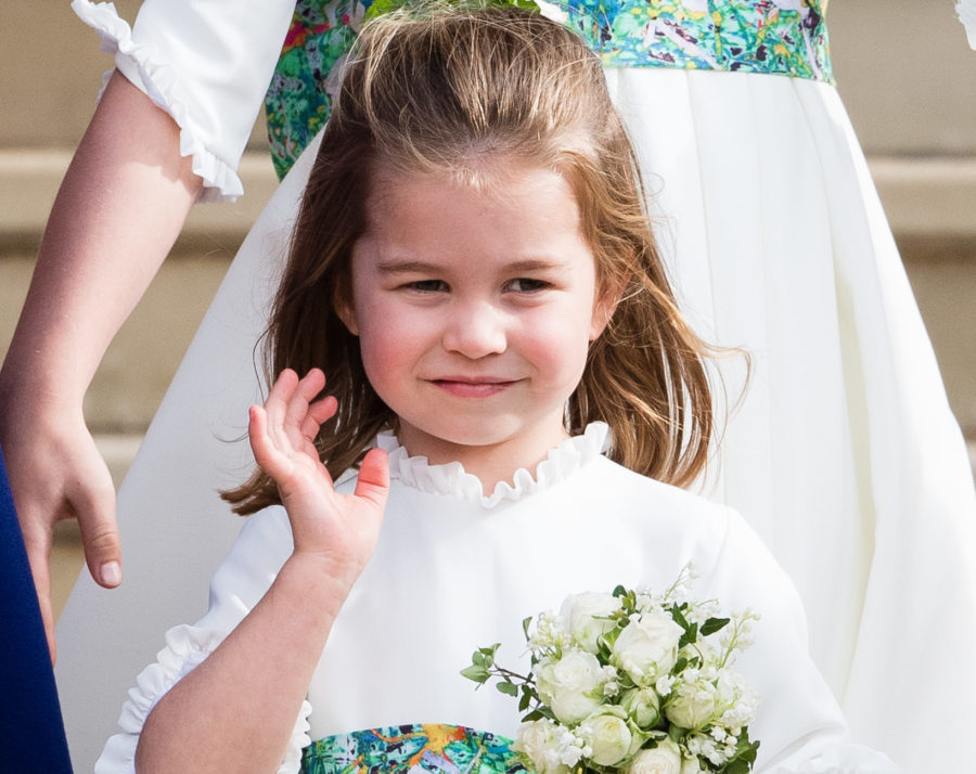 Princess Charlotte steals the spotlight in Princess Eugenie's latest wedding photo