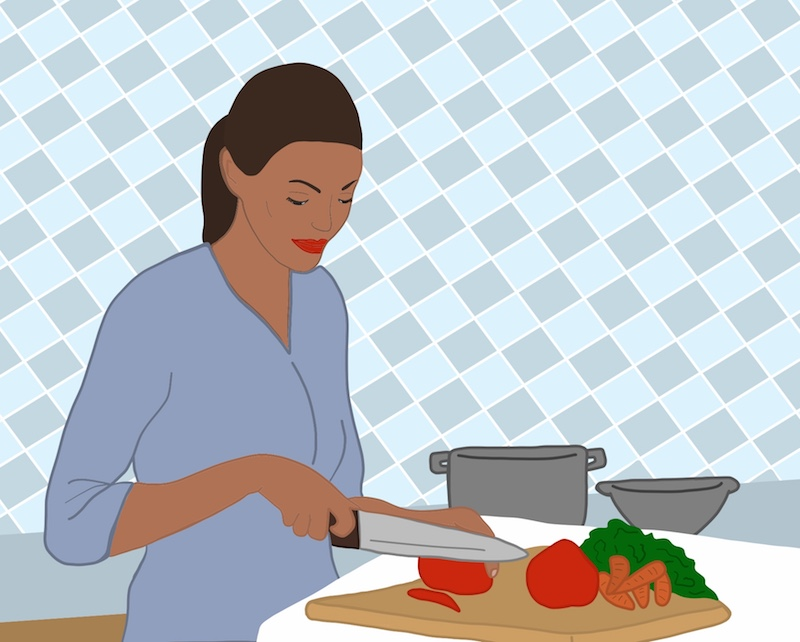 The particular joy of cooking for one after an abusive relationship