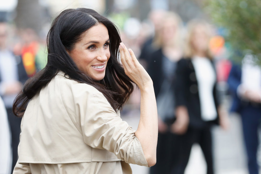 Meghan Markle went hilariously off-script when she got startled by a model car