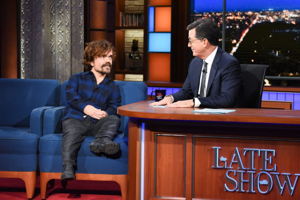 Peter Dinklage helped Jamie Dornan prep for 50 Shades of Grey, and we love a good bromance