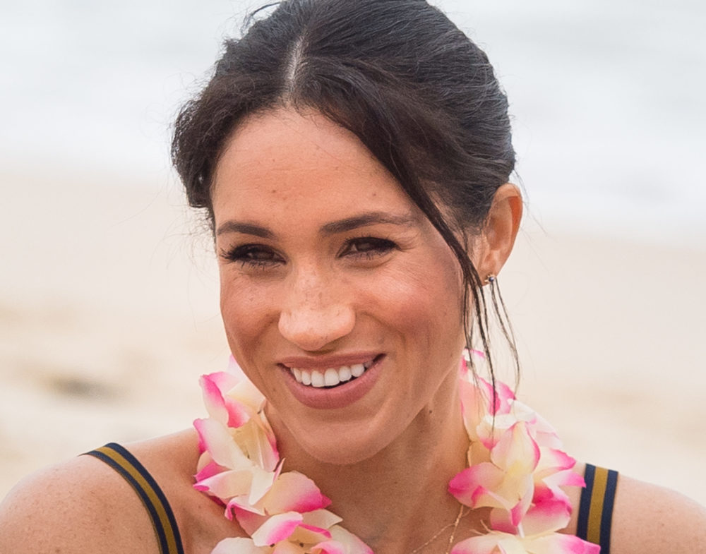 Meghan Markle channeled her California girl style in her most beachy look yet