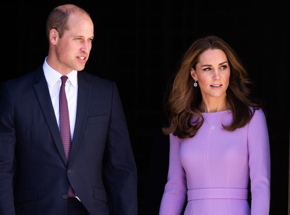 Kate Middleton and Prince William threw a super-secret party at Kensington Palace
