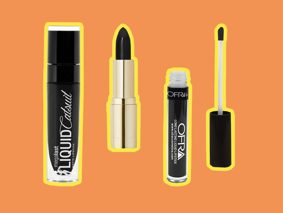 13 affordable black lipsticks under $10 that you'll love way past Halloween