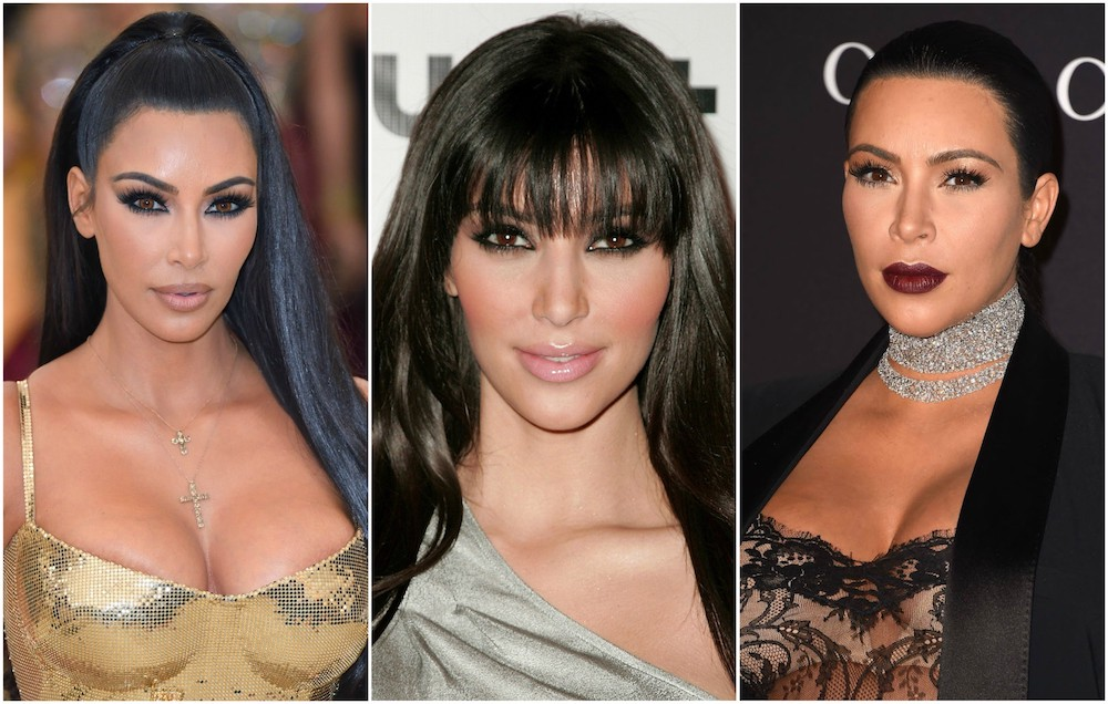 Kim Kardashian's beauty evolution, from contour queen to platinum blonde babe