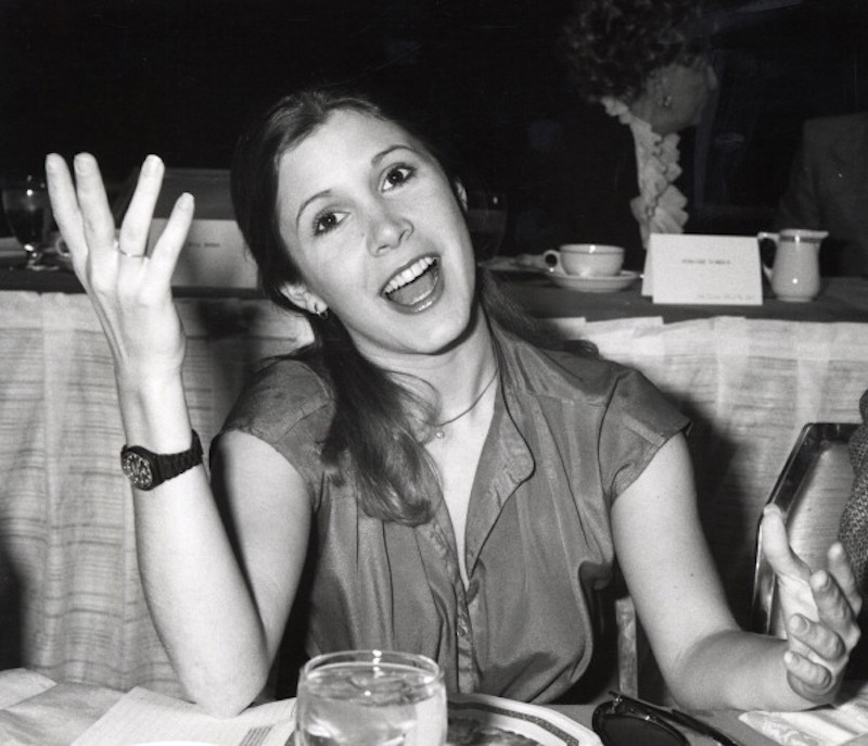 Carrie Fisher's candid humor about mental illness saved my life