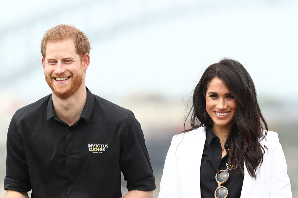 An American broke royal protocol so hard when meeting Harry and Meghan