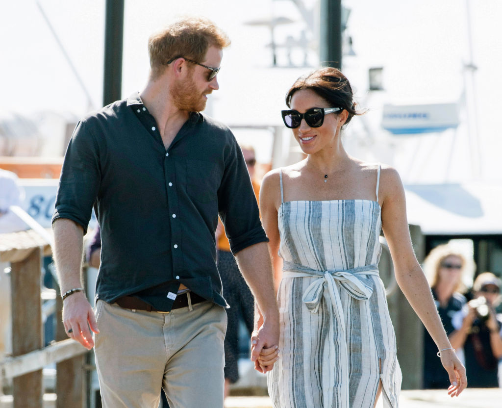 People think Meghan Markle's dress broke ALL the royal protocol, and honestly, can she live?