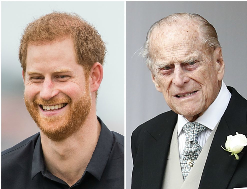 Prince Harry looks exactly like his grandpa Prince Philip in this throwback photo