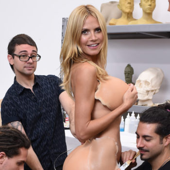 Heidi Klum broke down her three best Halloween costumes for us—including the one where she looked 95