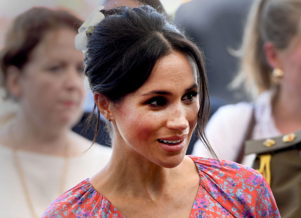 Meghan Markle's visit to a market was abruptly cut short due to security concerns