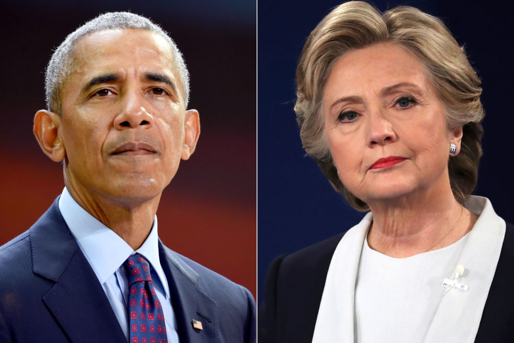 Potential explosive devices were sent to the offices of Barack Obama and Hillary Clinton