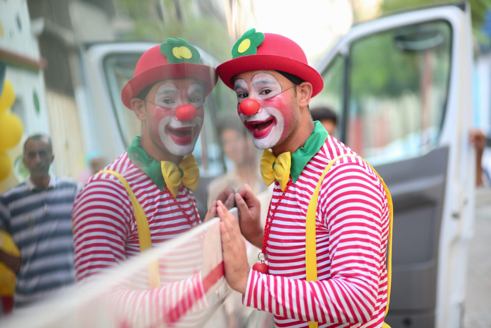 A city in Michigan banned clowns on Halloween...and we're actually on board