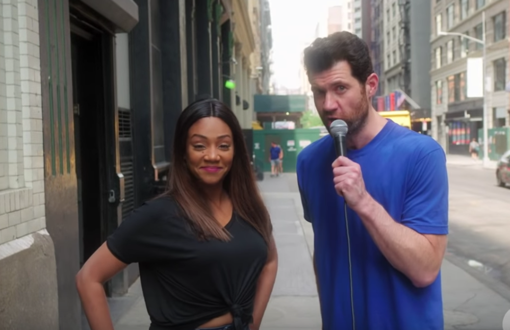 "Billy Eichner and Tiffany Haddish hit the streets to cast a ""woke"" <em>Hocus Pocus</em> trio of witches, and bless"