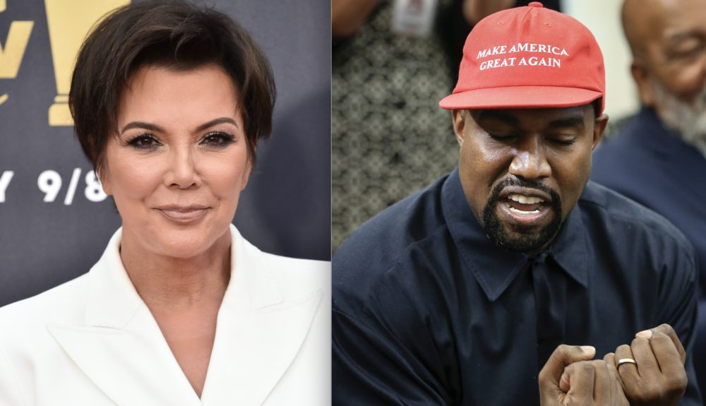 Kris Jenner shared her thoughts on Kanye West's support of Trump