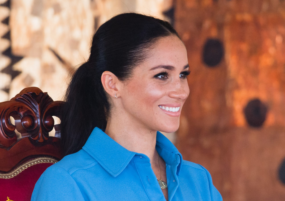 We've never seen a royal wear anything like Meghan Markle's ballgown covered in birds