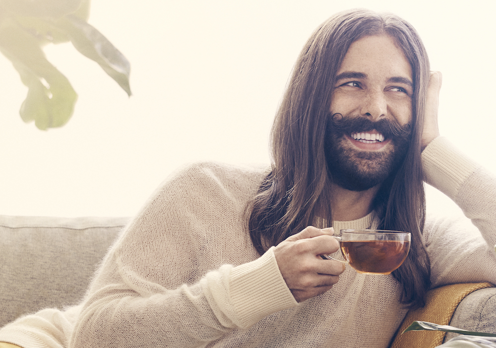 Jonathan Van Ness tells us how to form better self-care habits and why it's so important to vote