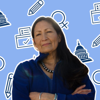 Deb Haaland could become the first Native American woman in Congress, and she wants to make sure everyone has an equal shot at success