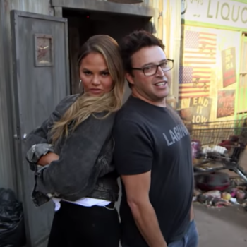 Chrissy Teigen's haunted house reactions are exactly as fun as you'd expect
