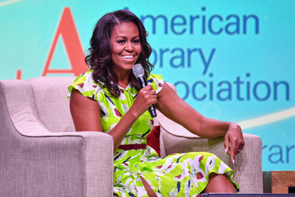 This video of Michelle Obama surprising Harlem high schoolers will make your freaking day