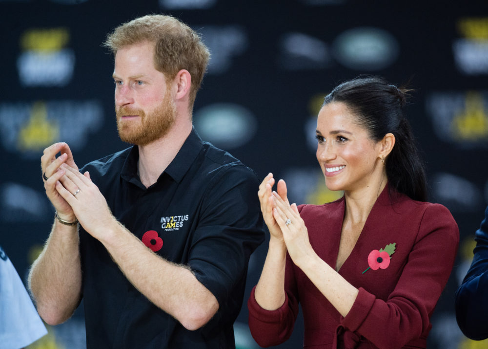 Harry and Meghan looked unusually casual during their latest royal outing