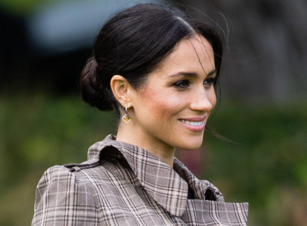 Meghan Markle's little black maternity dress is from ASOS, because she's just like us